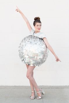 DIY Disco Ball Costume