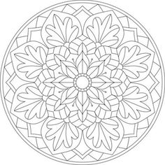 Free Adult Coloring Pages, Mandala Coloring Pages, Coloring Pages To Print, Free Printable Coloring Pages, Colouring Pages, Coloring Sheets, Coloring Books, Free Coloring, Mandala Art