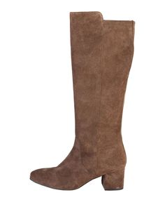 Women's shoes - 100% genuine leather uppers, suede - boots with side zip…