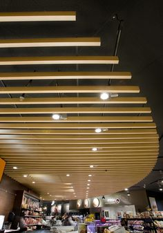 Metal Ceilings - Woodwright Beams from Hunter Douglas Contract