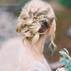 12 Bridal Hairstyles You'll Want to Copy - photo Allen Tsai
