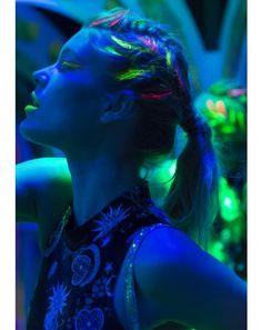 FaCe and BoDy PaiNT #DollsKill #glows #blacklight #EDC #rainbow #neon