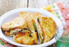 Gebakken mozzarella-tosti