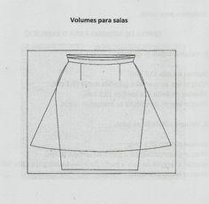 VOLUME DE SAIAS Para chegar à objectivação de um modelo é necessário em 1º lugar entender qual a linha que está ali representada, depois encontrar o volume