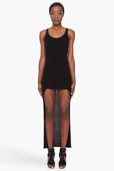 NEIL BARRETT //  LONG TAIL VEST DRESS
