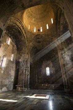 Beautiful Mysterious Places...The Monastery of Tatev, Armenia, 9th century.