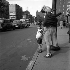 Like nature intended it to happen - by Vivian Maier