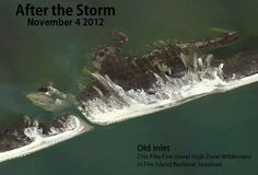 Post-Hurricane Sandy: Old Inlet Breach on Fire Island