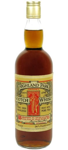 Highland Park 100 Proof Fine Old Highland Scotch Whisky - official bottling from Scotch Whiskey, Bourbon Whiskey, Alcoholic Drinks, Beverages, Cocktails, Blended Whisky, Single Malt Whisky, Distillery, Whiskey Bottle