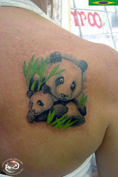 Panda+Tattoo+Designs | Animal Tattoo Designs Panda Tattoos