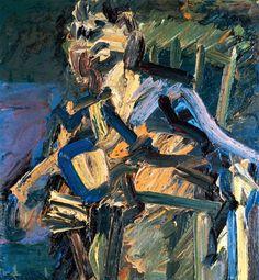 Frank Auerbach, J.Y.M. Seated, 1986-87