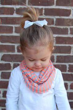 Neon Striped Baby Toddler Child Infinity Scarf by BundleUpBuddy, $8.00