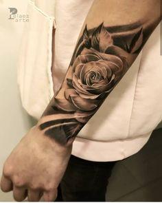 Pin on Arm Tattoos Forarm Tattoos, Forearm Sleeve Tattoos, Best Sleeve Tattoos, Head Tattoos, Finger Tattoos, Body Art Tattoos, Bicep Tattoo Men, Rose Tattoo Forearm, La Tattoo