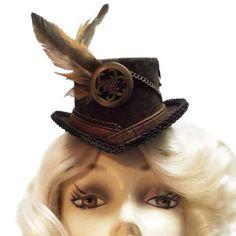 Mini Top Hat Pillbox Hat, Top Hats, Madness, Cowboy Hats, Happy Birthday, Craft Ideas, Change, Mini, Tops