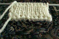 Encyclopédie des points de tricot. LE POINT JERSEY DOUBLE ou TRICOT DOUBLE