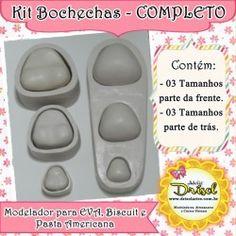 Kit Bochechas - COMPLETO (parte da frente e trás)
