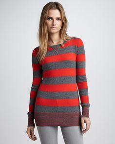 Striped Sweatshirt by Autumn Cashmere at Bergdorf Goodman.