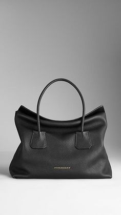 Medium Leather Tote Bag | Burberry