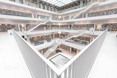 Stuttgart City Library by peetzie