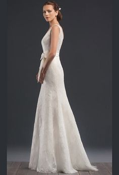 Свадебное платье годе силуэт русалка из кружева | Wedding dress, the year of the mermaid silhouette lace