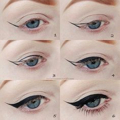 Eyeliner, step by step