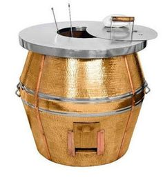 We are also engaged in manufacturing of Copper Tandoors. As the name suggest quality copper material used for outer body of tandoor and garnished by stainless steel. Restaurant Kitchen Equipment, Commercial Kitchen Equipment, Restaurant Indian, Tandoor Oven, Copper Material, Diy Outdoor Furniture, Tea Ceremony, Retail Design, Stainless Steel