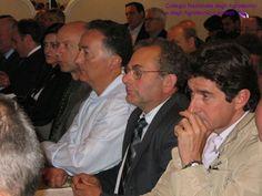 Da destra. Enrico Mencherini, Consigliere di Arezzo, Antonio Pagli Presidente di Pistoia, Moreno Moraldi Consigliere di Arezzo e delegato per l'Umbria, Mauro Angori Presidente di Arezzo, Teresita Russo, Consigliere di Catanzaro.