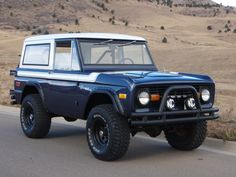 Early Bronco prefect exactly what I would do only mine wood be orange