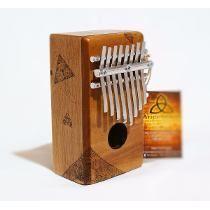 Kalimba Box Ancestral - 8 Notas - Excelente Qualidade