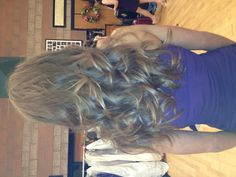 Pageant hair!