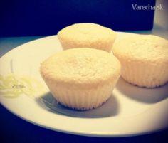 Kokosovo citrónové muffiny Cap Cake, Cheesecake, Cooking Recipes, Baking, Breakfast, Food, Anna, Basket, Lemon
