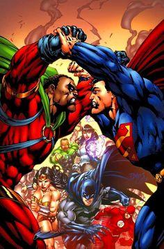 Icon | Augustus Freeman vs Superman