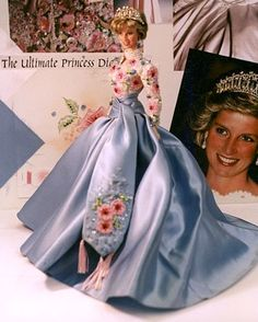 For two years prior to 1997 , Jill Barad and her top marketing people have pushed unsuccessfully to get authorization from Diana her self. To grant Mattel permission to produce a beautiful doll as Princess Diana by Mattel Inc., never approved by Diana's estate thus, never produced - this is one of two prototypes.
