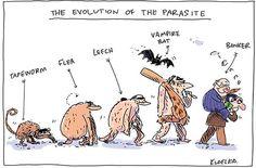 """L'evoluzione del parassita"" di kudelka.com.au"