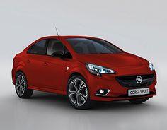 "Check out new work on my @Behance portfolio: ""Opel Corsa sedan""…"