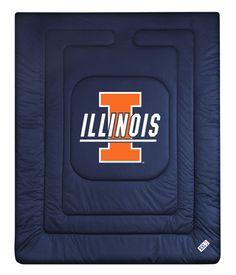 ATHLEZ - Illinois Fighting Illini Locker Room Comforter Full/Queen