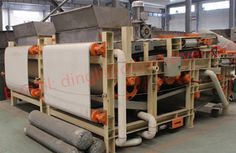 Vacuum Belt Dehydrator  Vacuum belt dehydration is also known as the fixed vacuum rubber belt filtration. Our company develops a new and efficient solid-liquid separation mechanical device which can operate continuously.  Welcome to Dingli company consult; Dingli company of E-mail: dingli@dlbio-dryer.com; Dingli company of website: http://www.dewatering-machine.com/