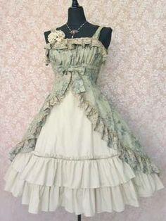 I found Vintage Lolita Dress on Wish, check it out! Fashion amp; Style | Big Fashion Show lolita dress