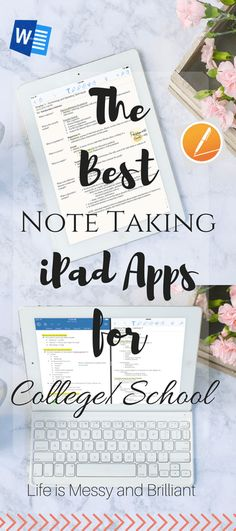 The Best Note Taking Apps for iPad in College (back in time)