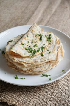 These Tortilla Wraps are low calorie, gluten free, keto snacks recipes with great texture and strength. Cauliflower, Coconut flour tortillas and many more