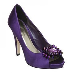 Purple Wedding Shoes | Wedding Forum - Anyone know where I can get some nice purple shoes ...