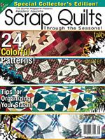 "All American Crafts ""Scrap Quilts"" bookazine from the editors of The Quilter Magazine"