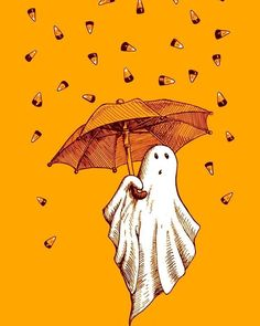 [ Halloween Quotes : Illustration Description ~Grab a blanket and come get cozy~ Theme Halloween, Halloween Painting, Halloween Horror, Holidays Halloween, Halloween Decorations, Costume Halloween, Halloween Wishes, Halloween Artwork, Kawaii Halloween