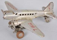 Vintage Japan TWA Tin Windup Airplane Airplane Toys, Airplanes, Vintage Toys, Retro Vintage, Rocket Ships, Ginger Beer, Tin Toys, Rockets, Trains