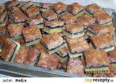 a teď už jen ochutnávat . Sweet Recipes, Snack Recipes, Snacks, Czech Recipes, World Recipes, Nutella, Green Beans, Zucchini, Food And Drink