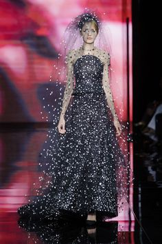 Armani Prive - The Most Gorgeous Couture Gowns of Fall 2014 - StyleBistro