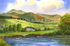 brecon beacons painting - Google Search