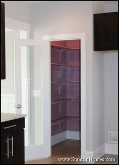 Textured glass doors fluted or reeded glass cabinet doors will glass pantry doors glass doors are also popular additions to your kitchen pantry such as the one in this contemporary raleigh kitchen planetlyrics Images