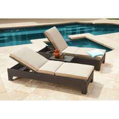 Costco: Newport 3-piece Patio Chaise Lounger Set by Mission Hills®