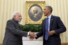 In Historic Visit To D.C., Obama Offers Indian Prime Minister $1 Billion In Financing For Clean Energy